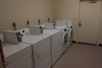 Picture of the laundry room